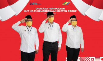 Upacara Peringatan HUT RI ke-75 Virtual